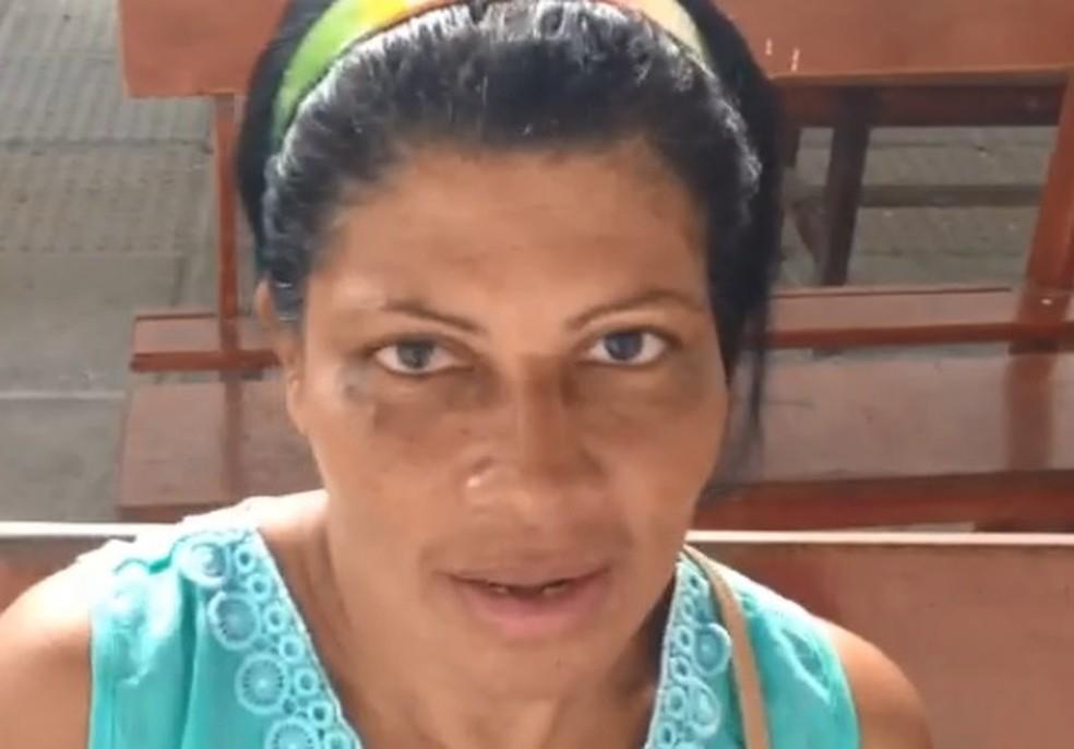 Letícia Melo foi prejudicada pela greve dos médicos do Recife, nesta quinta-feira (18) (Foto: Wagner Sarmento/ TV Globo)