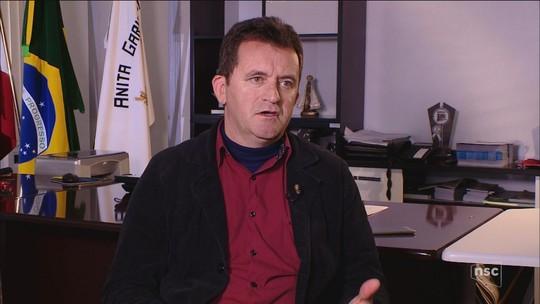 Prefeito de Anita Garibaldi tem mandato cassado pela Câmara de Vereadores