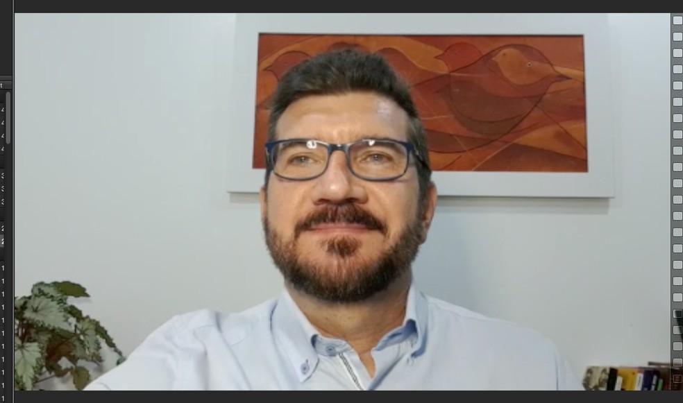 Convenção do PT oficializou o nome de Pedro Kemp como candidato à Prefeitura de Campo Grande — Foto: Reprodução/Redes Sociais