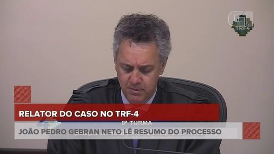 'Não estamos julgando a vida pregressa das pessoas', diz relator