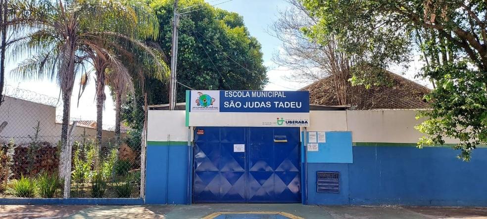 Escola Municipal São Judas Tadeu— Foto: Reprodução/Facebook