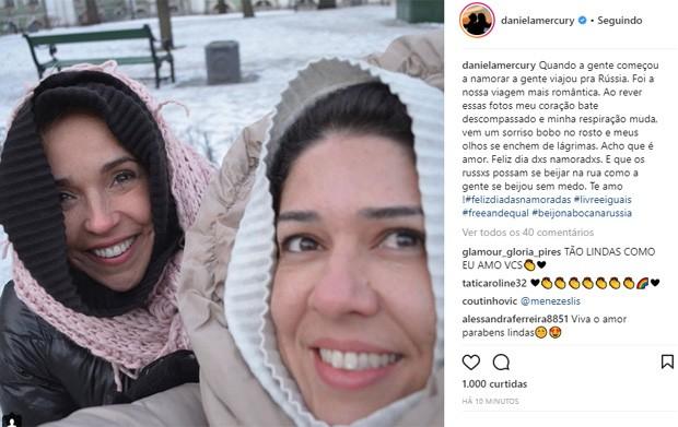Daniela Mercury e Malu Verçosa (Foto: Reprodução/Instagram)