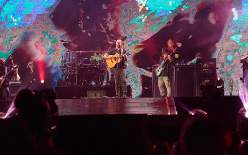 Dave Mathews Band no palco Mundo