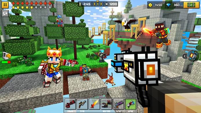 7 jogos parecidos com Minecraft para celular Android e