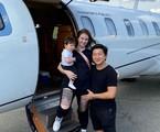 Pyong Lee contou ao site que já conquistou R$ 1 milhão mesmo sem ter chegado à final. Sua última foto no Instagram é num jatinho com a família | Reprodução