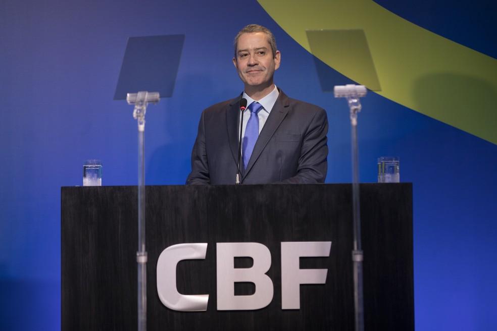 Rogério Caboclo presidente CBF — Foto: Lucas Figueiredo/CBF