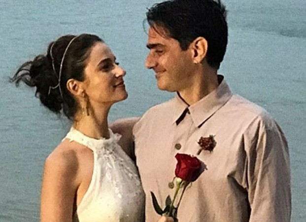 Priscila Steinman e Vinícius Coimbra se casam em Paraty (Foto: Reprodução/Instagram)