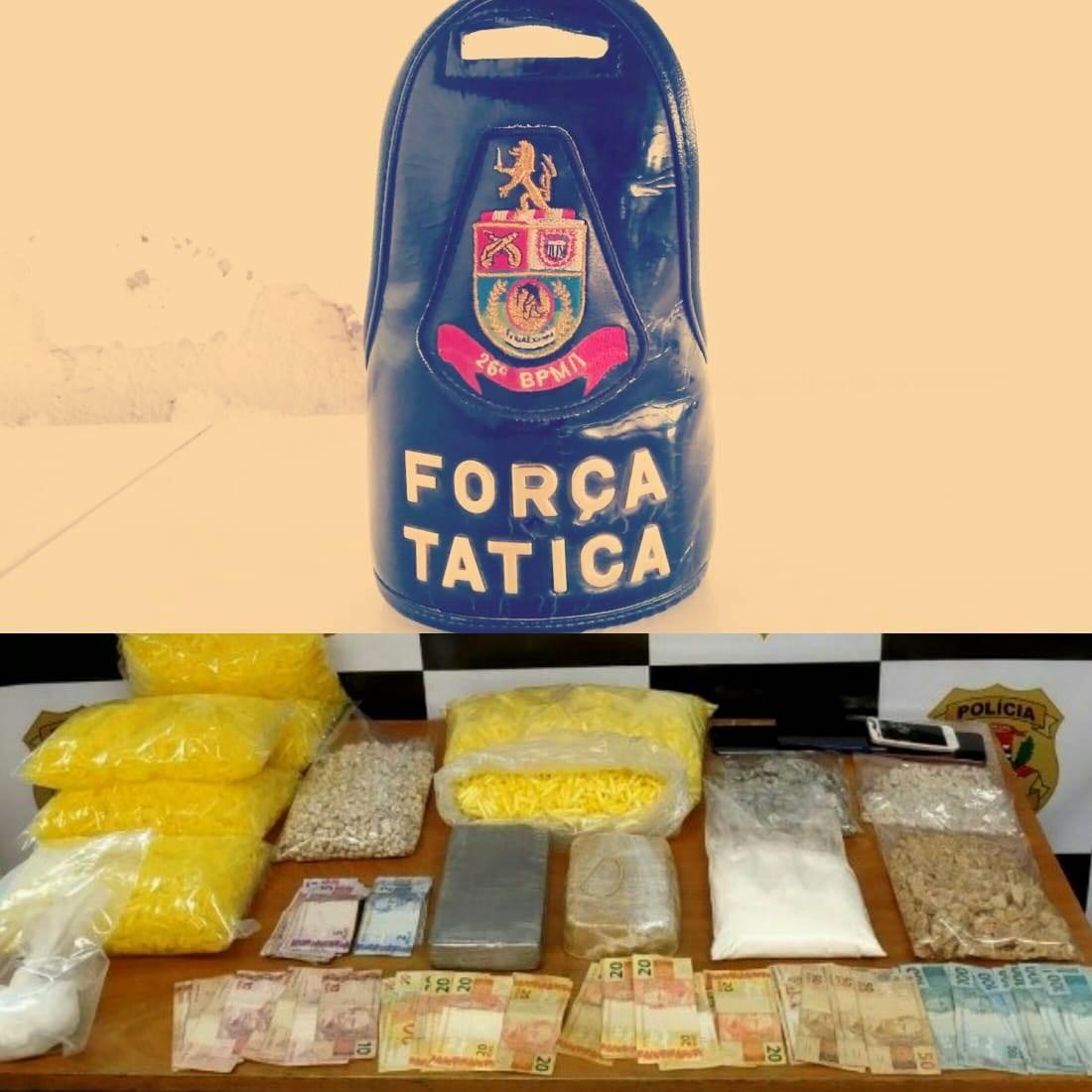 Operação em Mogi Guaçu detém trio por suspeita de tráfico de drogas e apreende R$ 2 mil