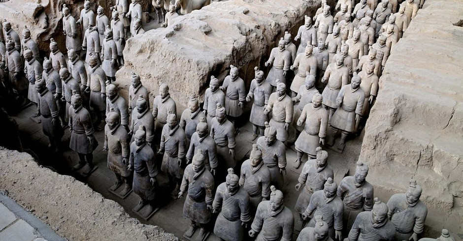 Exército de terracota (Foto: Museum of the Terracotta Army)