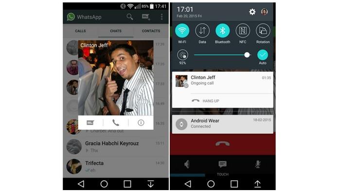 WhatsApp agora permite (Foto: Reprodução)
