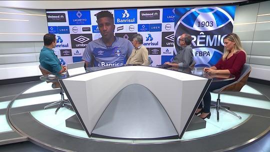 Cortez, do Grêmio, fala sobre sua carreira no Grêmio e o Campeonato Gaúcho