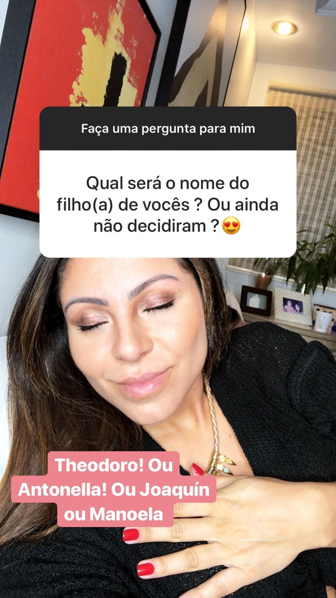 Andressa Miranda revela planos para filhos com Thammy (Foto: Reprodução/Instagram)