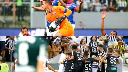 Zoeira liberada! Veja memes de Ceará x Palmeiras e Atlético-MG x Fortaleza