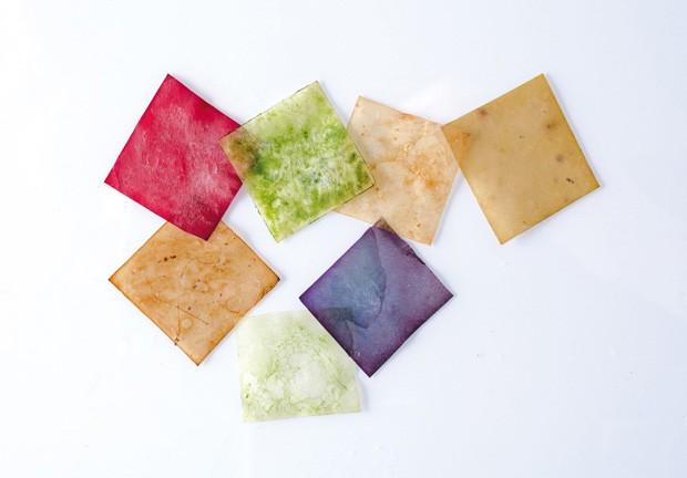 Designer cria embalagens sustentáveis a partir de bactérias (Foto: Divulgação)