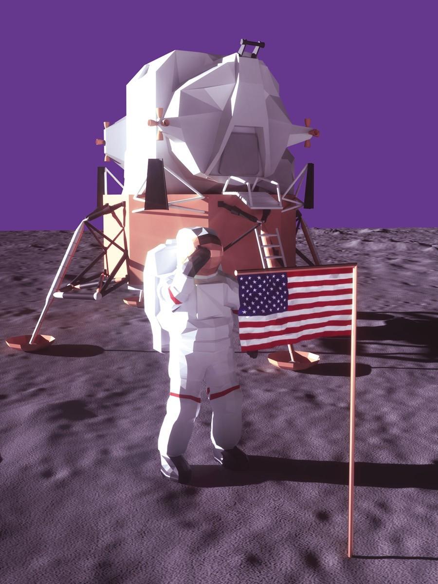 Chegada do homem à Lua completou 50 anos (Foto: Marcus Penna)