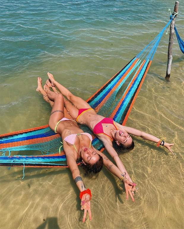 Gabriela Pugliesi e Marcela Fetter (Foto: Reprodução / Instagram)
