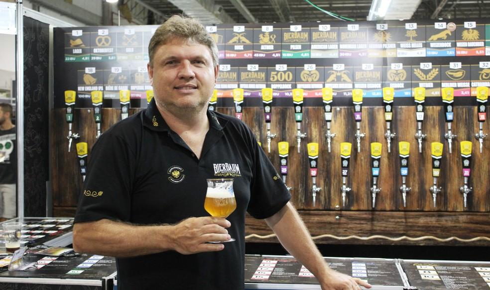 Markus Bierbaum é um dos fundadores da Cervejaria Bierbaum (Foto: Divulgação)