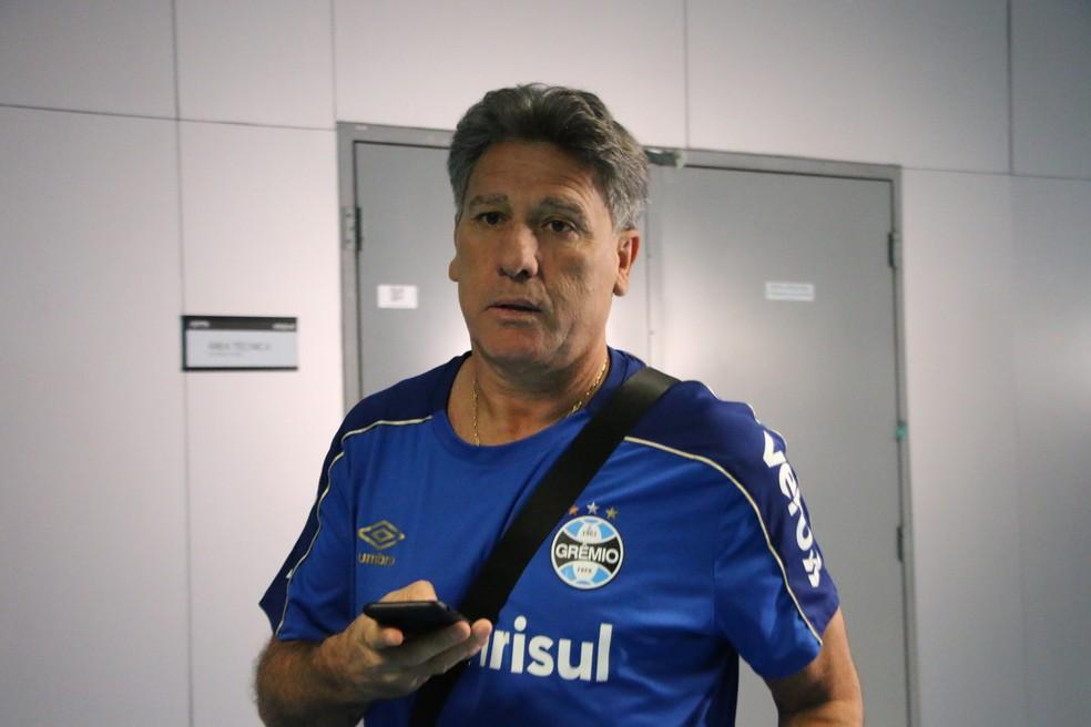 Renato Gaúcho está em férias no Rio de Janeiro — Foto: Eduardo Moura
