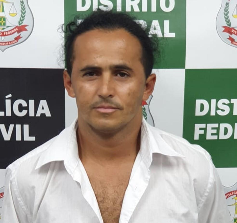 Suspeito de participar da morte de funcionária do MEC, no DF, foi preso; ele é dono da caminhonete em que ela entrou no dia do crime — Foto: Polícia Civil do DF/ Divulgação