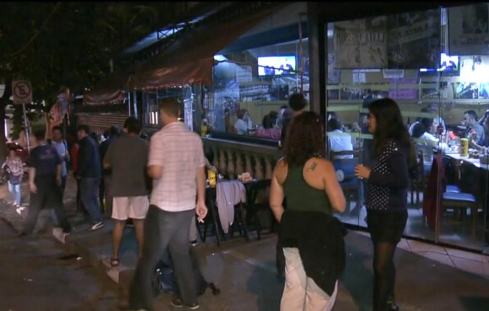 Lei do Silêncio tem gerado multas em estabelecimentos comerciais do DF (Foto: TV Globo/Reprodução)