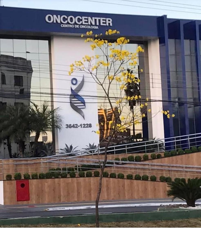 A Clínica Oncocenter fica situada no centro de Cuiabá  — Foto: Assessoria