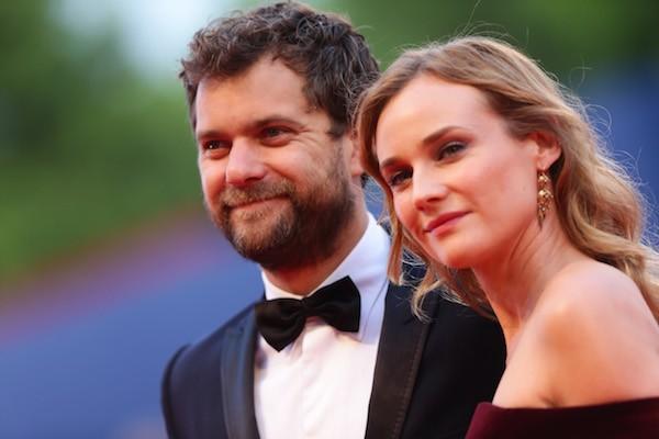 A atriz Diane Kruger e o ator Joshua Jackson (Foto: Getty Images)