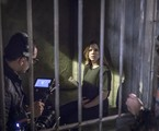 Alice Wegmann grava 'Órfãos da terra' | Paulo Belote/TV Globo