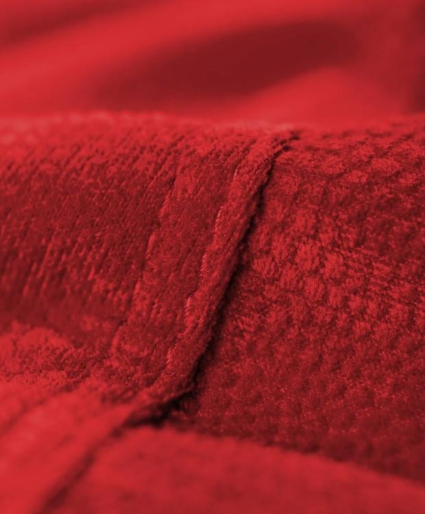 Para facilitar lavagem, o pufe é revestido por uma capa removível (Foto: Amazon/ Reprodução)