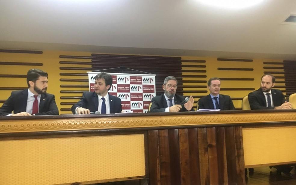 Ministério Público investiga fraude em recuperação judicial da construtora Borges Landeiro — Foto: Rafael Oliveira/G1