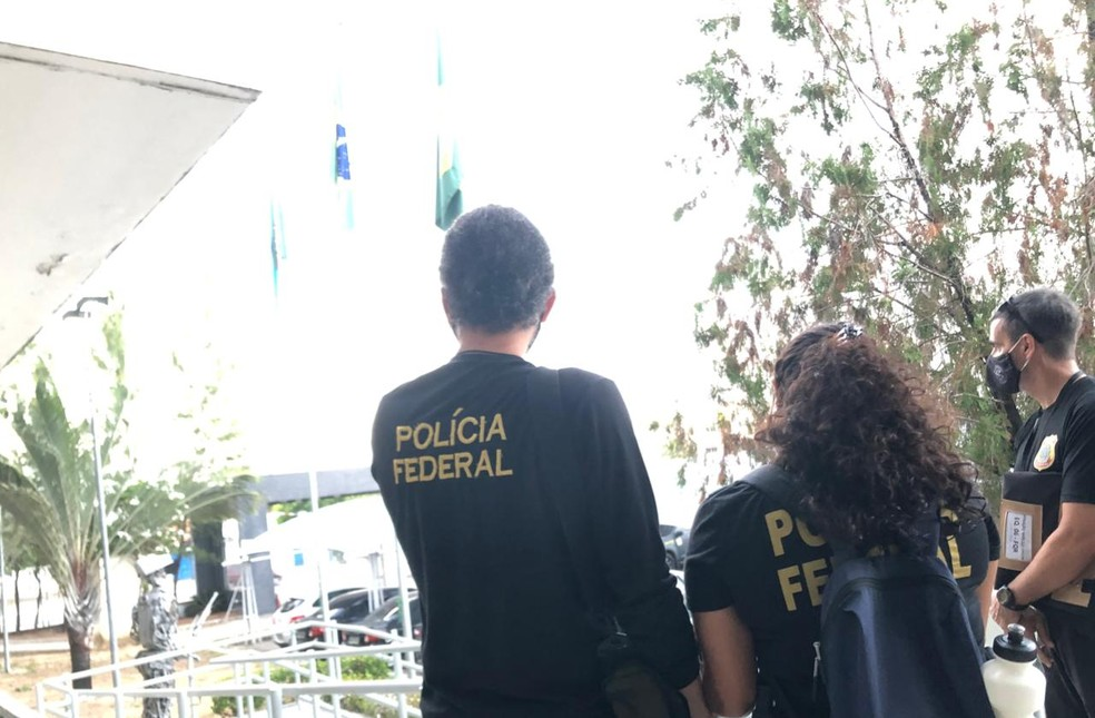 Polícia cumpre mandados de busca e apreensão em Fortaleza e outras duas cidades — Foto: Polícia Federal/ Divulgação