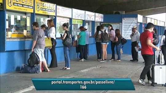 Ministério dos Transportes garante gratuidade nas viagens interestaduais