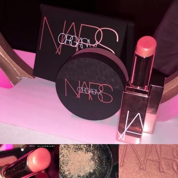 Nova coleção da Nars (Foto: Reprodução/Instagram)