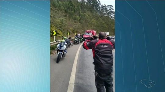 Motociclista morre em acidente na BR-262 em Conceição do Castelo, ES