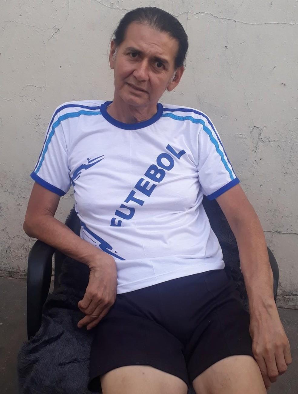 Camila segue se recuperando das agressões — Foto: Camila Ferreira/Arquivo Pessoal