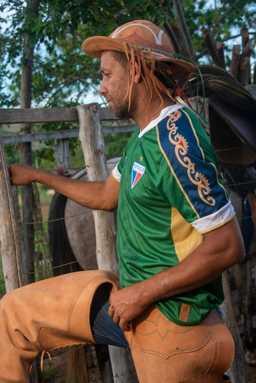 Uniforme goleiro Fortaleza, 2021 — Foto: Fortaleza EC/Divulgação