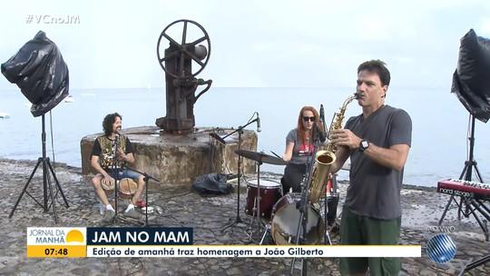 'Jam no Mam' apresenta edição especial em homenagem a João Gilberto no sábado