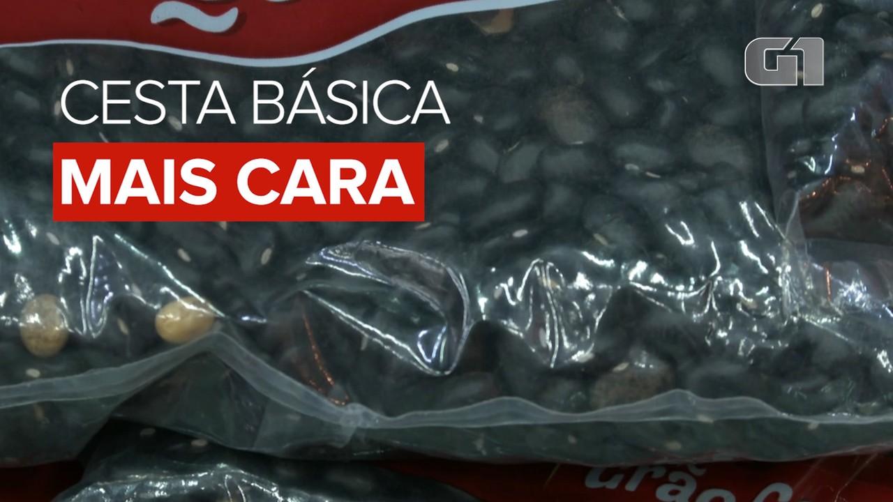 Preço da cesta básica tem alta em setembro em todas as 17 capitais pesquisadas pelo Dieese