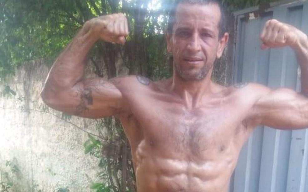 Fernando Henrique Cardoso da Silva foi indiciado por injúria, ameça e lesão corporal após agredir ex-mulher em Morrinhos, Goiás — Foto: Reprodução/Facebook