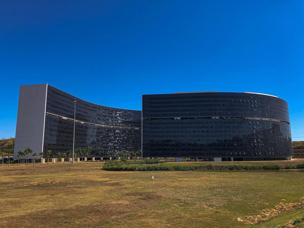 Cidade administrativa, sede do governo do estado de Minas Gerais — Foto: Danilo Girundi/TV Globo