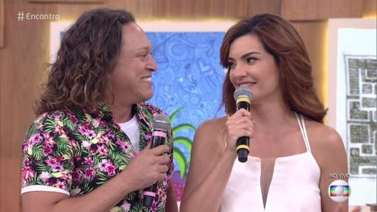 Paraibana Mayana Neiva participa do programa; assista