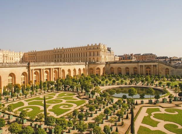 Palácio de Versailles, na França (Foto: Shutterstock/ Reprodução)