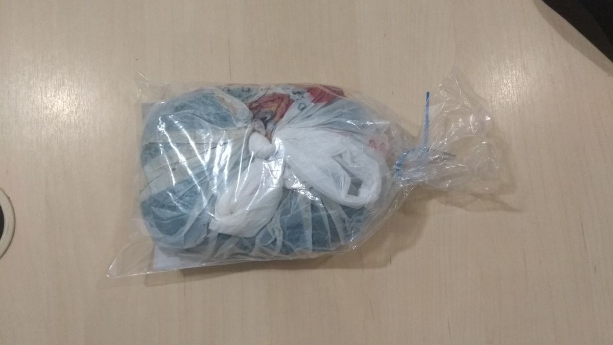 Dupla é presa com sacola de maconha no 'Beiral', em Boa Vista