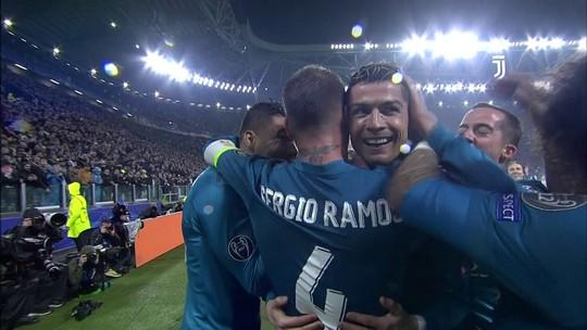 O gesto de Buffon para Cristiano Ronaldo que passou despercebido após golaço de bicicleta