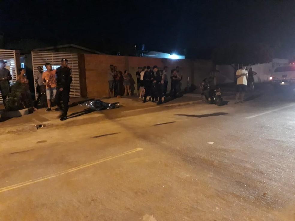Jovem de 25 anos morreu após ser baleada durante roubo em Ariquemes — Foto: Antônio de Jesus/ Arquivo pessoal