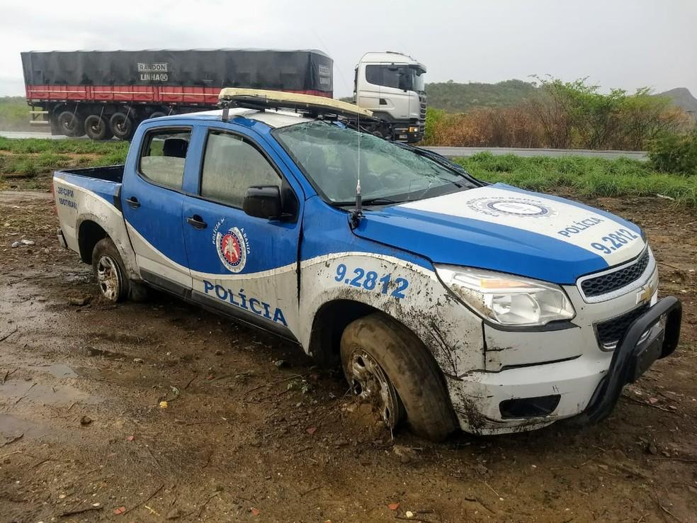 Acidente ocorreu na BR-242, em trecho da cidade de Ibotirama — Foto: Site Gazeta 5