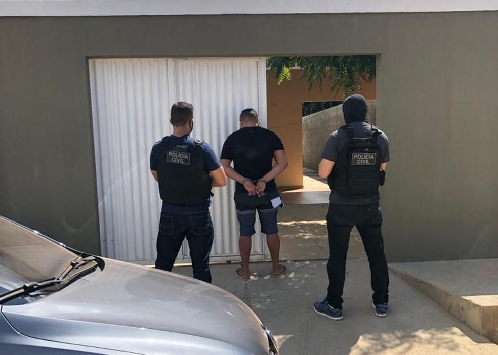 Polícia encontra laboratório de refino de cocaína em casa da Zona Sul de Teresina — Foto: Polícia Civil
