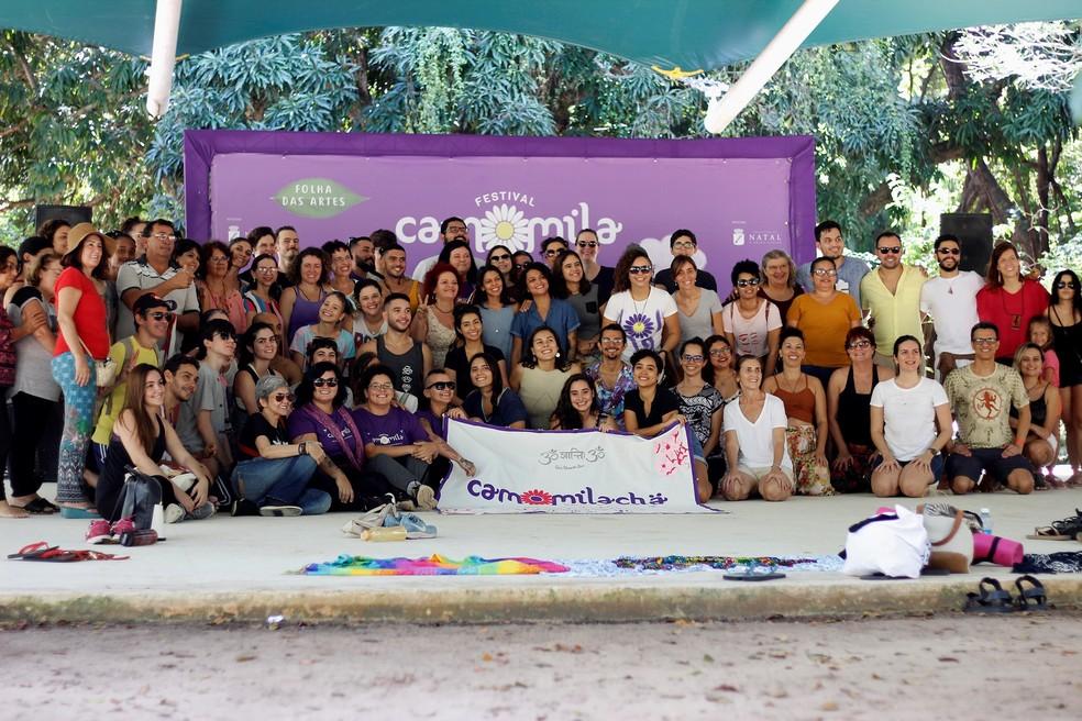 Festival Camomila acontece neste fim de semana no Parque das Dunas — Foto: Divulgação
