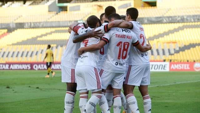 Flamengo x Barcelona de Guayaquil, pela Libertadores