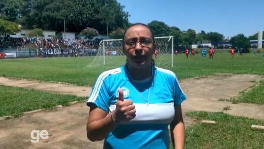 """Goleada por 10 a 0 na Taça das Favelas tem """"truque"""" de gêmeas e pedido de música para Fantástico"""