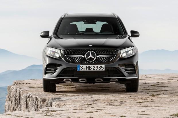 Mercedes-Benz GLC deve servir mais de inspiração para o novo GLB  (Foto: Divulgação)